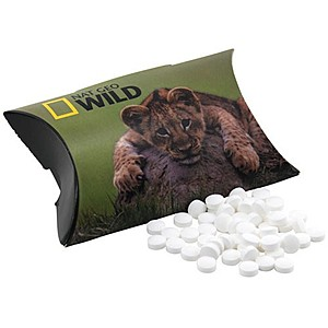 Pillow Box With Mini Mints