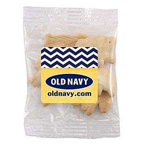 Snack Bag With Animal Crackers