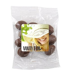 Snack Bag With Choc. Peanuts
