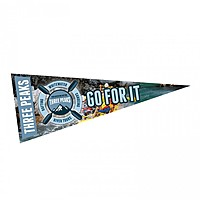 "4"" X 10"" Full Color Felt Pennant With Printed Strip"