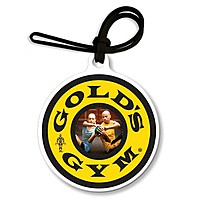 Bag & Luggage Tag   Large Round With Tab   Full Color