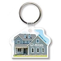Key Tag House Full Color