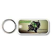 Key Tag   Large Rectangle With Round Corners   Full Color