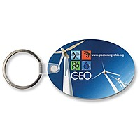 Key Tag   Oval   Full Color