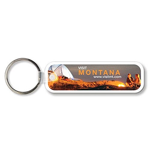 Photo of Key Tag   Rectangle W/Rc   Full Color