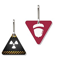 Zipper Pull   Large Triangle   Full Color