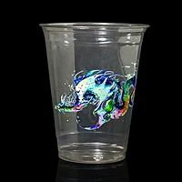 Digital 16oz. Clear Plastic Cup