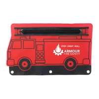 Fire Engine School Pouch