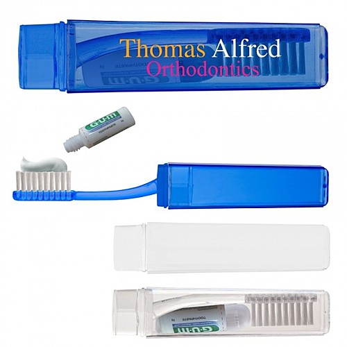 Photo of Travel Toothbrush With Toothpaste