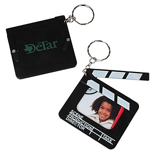 Clapboard Photo Keychain