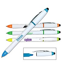 3 In 1 Highlighter/Pen/Stylus