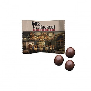 Custom Individually Wrapped Chocolate Covered Espresso Beans