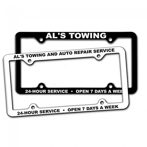 Photo of Thin Panel License Plate Frames