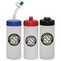 16 Oz. Sports Bottle   Natural/White