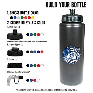 32 Oz. Sports Bottle