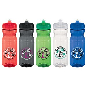 Easy Squeezy 24oz Sports Bottle   Crysta