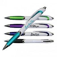 White Crest Grip Pen