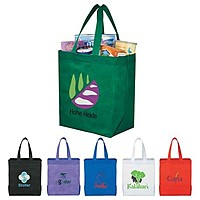 Liberty Heat Seal Non Woven Grocery Tote