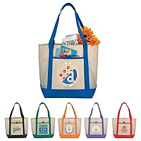 Lighthouse Non Woven Boat Tote