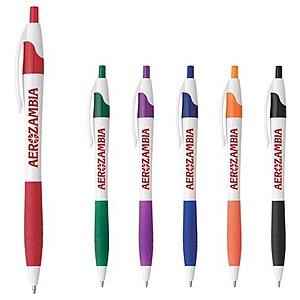 The Cougar Rubber Grip Pen