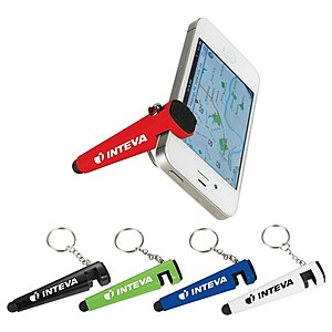 The Taz Phone Holder Stylus Keychain