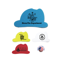 Die Cut Eraser   Fire Helmet