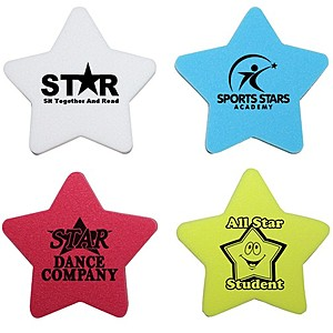 Die Cut Eraser   Star