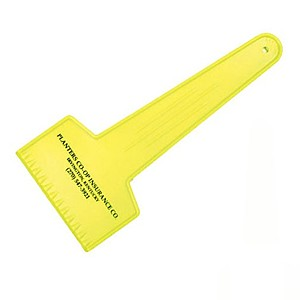 Large Fluorescent Ice Scraper