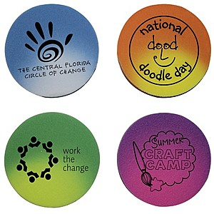 Mood Die Cut Eraser Circle