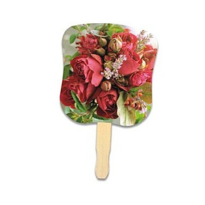 Stock Design Hand Fan Flower Bouquet