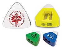 The Triad Eraser & Sharpeners