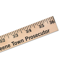Yardsticks   Clear Lacquer Finish