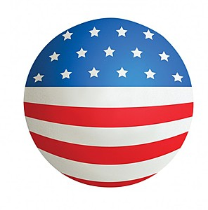 American Flag Squeezies Ball