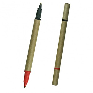 Bio Degradable Two Color Cardboard Pen