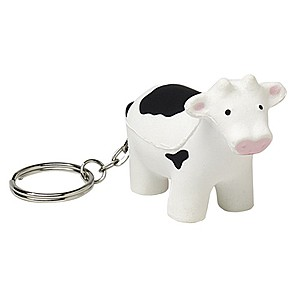 Cow Squeezie Keyring