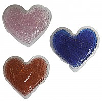 Gel Beads Hot/Cold Pack Hearts