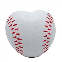Heart Shaped Baseball Squeezie