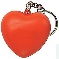 Heart Squeezie Keyring