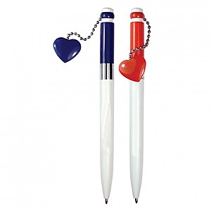 Magnetic Heart Clicker Pen