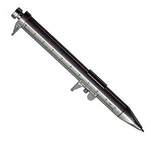 Silver Caliper Pen