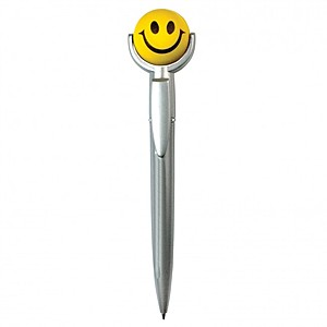 Smiley Squeezie Top Pen