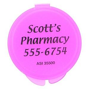 Round Mini Pill Box