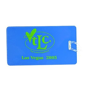Semi Flexible Luggage Tag