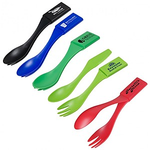 Combo Salad Picker & Flatware Set