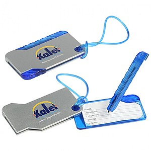 Hideaway Luggage Tag And Pen
