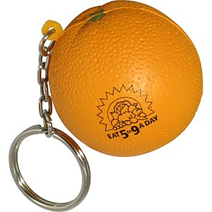 Orange Key Chain