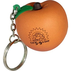 Peach Key Chain
