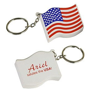 Usa Flag Stress Reliever Key Chain
