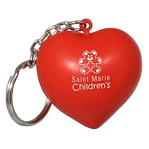 Valentine Heart Key Chain