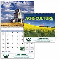 Agriculture Spiral Calendar